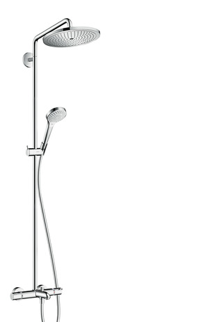 HG Showerpipe Croma Select S 280 Wanne