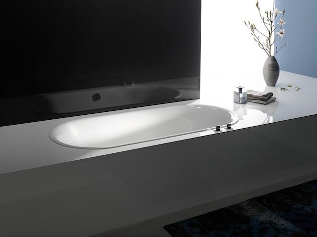 Bette Lux Oval - 1700×750 mm Bahama Beige (003) exkl. Antirutsch inkl. Wannenträger