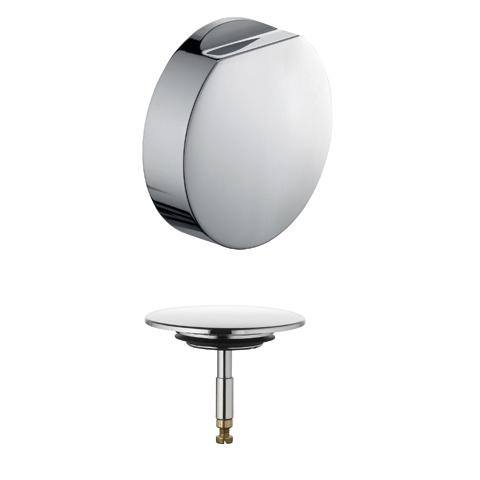 KLUDI Ab- und Überlaufgarnitur Feinbau-Set zu 2104000-00 chrom