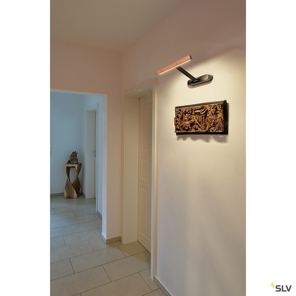 VINCELLI D WL, LED Indoor Displayleuchte, lang, Bambus 2700K
