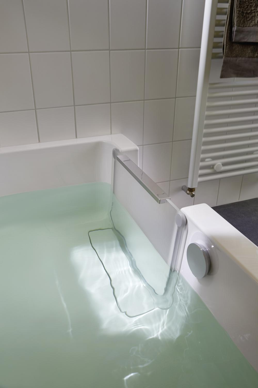 HSK DuschWanne Dobla B170xT75, Einstieg links ohne Frontschürze ohne Seitenschürze mit AnitSlip-Beschichtung mit Aquaproof-Dichtset ohne Wannenkissen