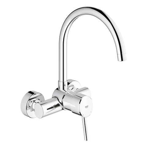 GROHE EH-SPT-Batterie Concetto 32667_1 Wandmontage chrom