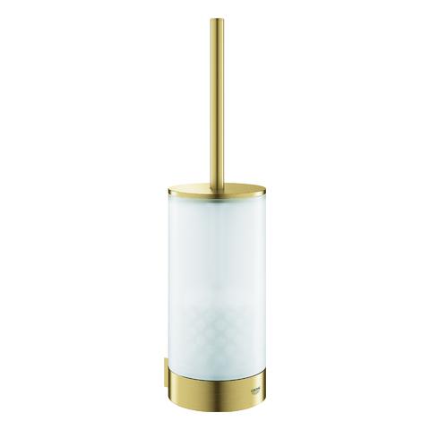 GROHE WC-Bürstengarnitur Selection 41076 Glas/cool sunrise gebürstet