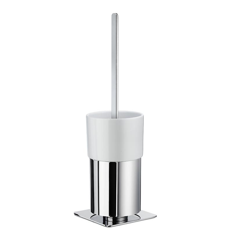 SMEDBO OUTLINE WC-Bürste mit Behälter Verchromt/Porzellan