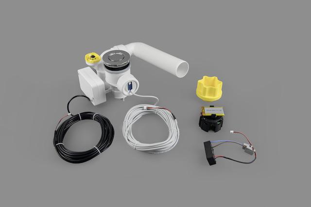 Bette Sensory Ab- und Überlaufgarnitur - Chrom (oUeL)