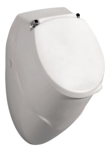 Thielsch Badkeramik Urinal Komplett-Set inkl. Deckel