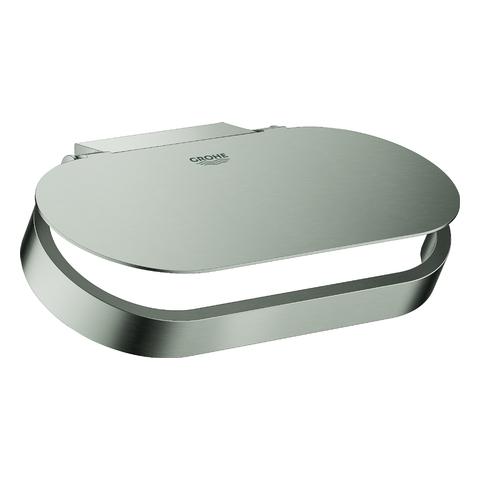 GROHE WC-Papierhalter Selection 41069 mit Deckel hard graphite gebürstet
