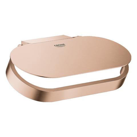 GROHE WC-Papierhalter Selection 41069 mit Deckel warm sunset gebürstet