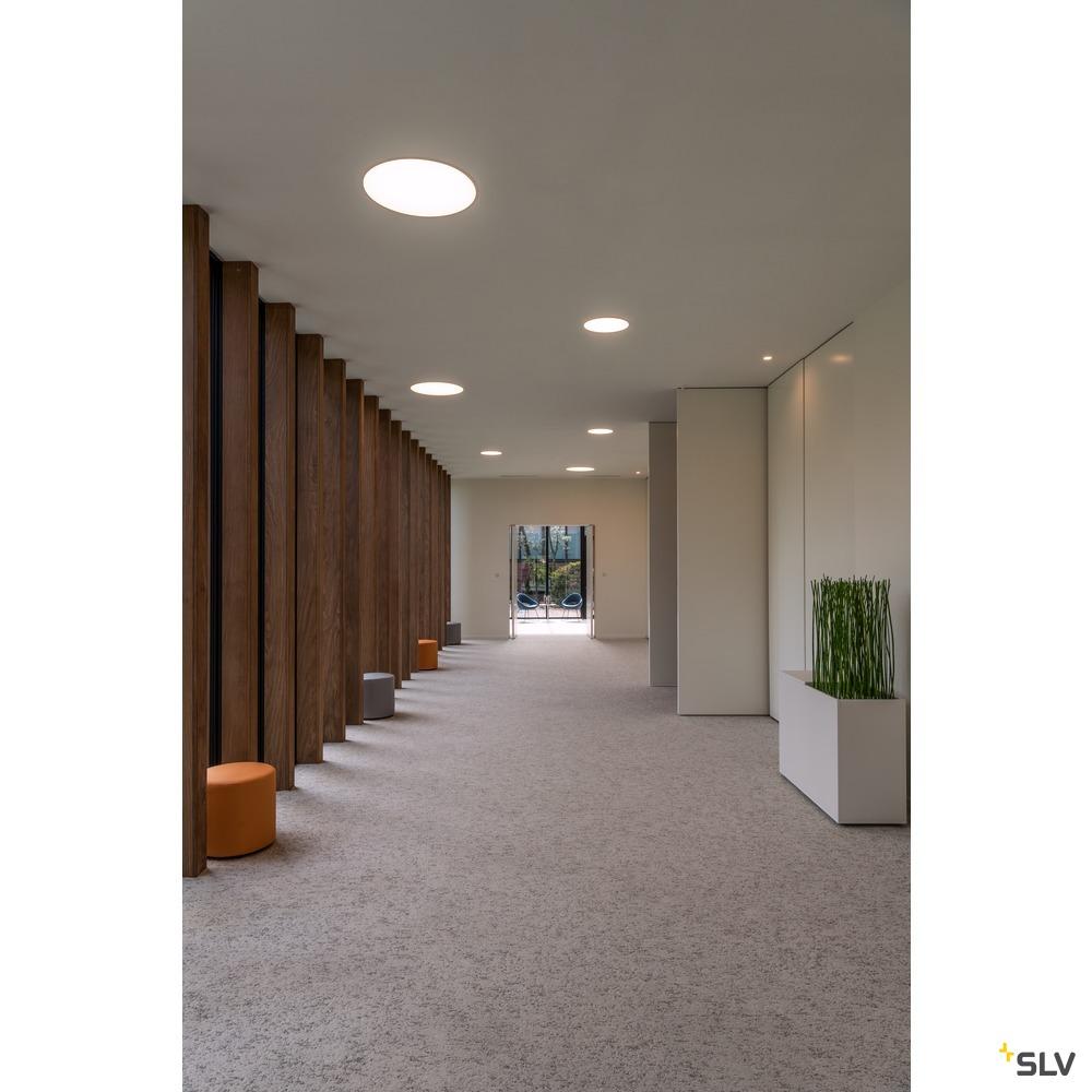 RILO DL, LED Indoor Deckeneinbauleuchte, weiß/chrom, 3000/4000K, 5,5W