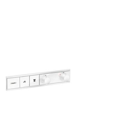 HG Thermostat Unterputz RainSelect Fertigset 2 Verbraucher mattweiss