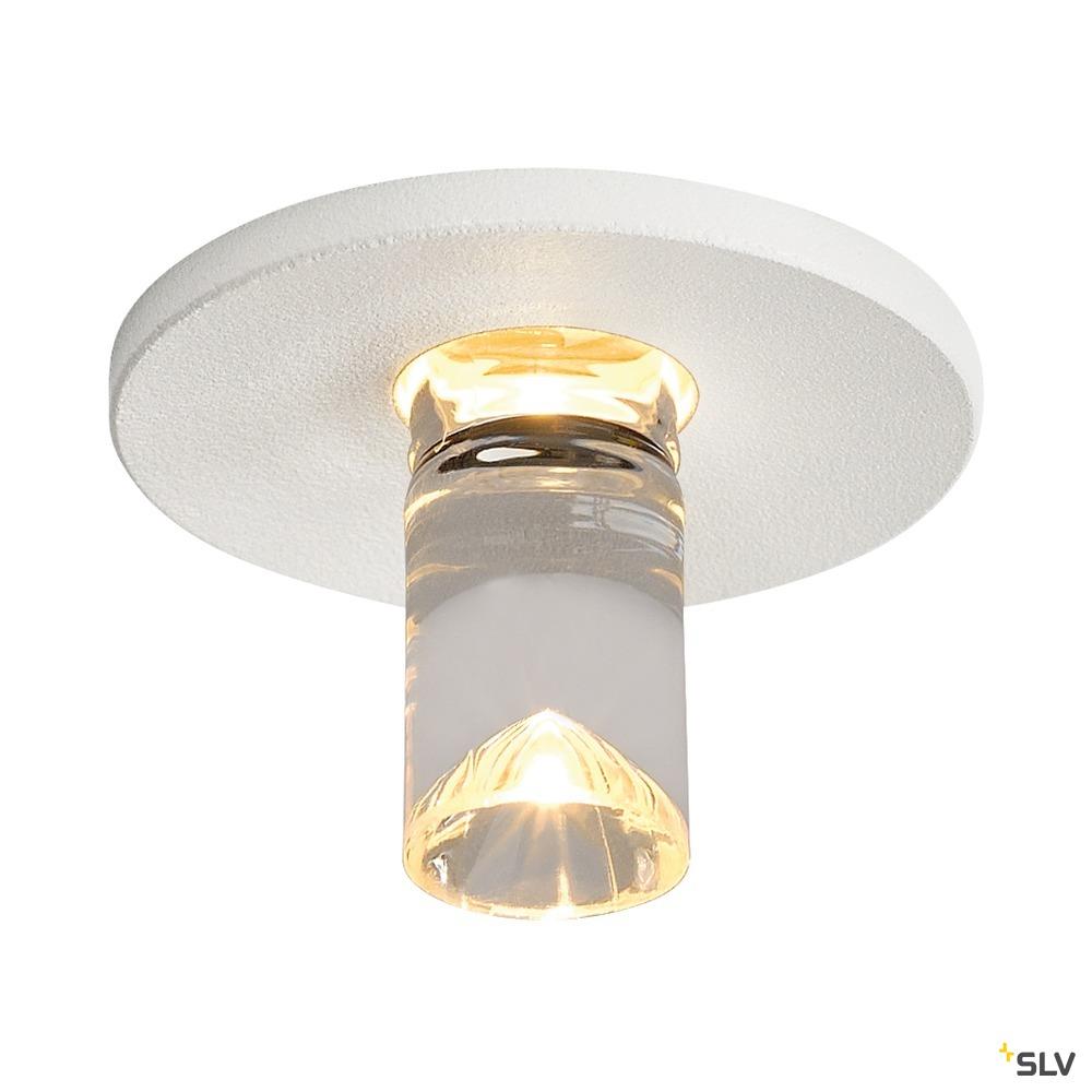 LIGHTPOINT, Einbauleuchte, LED, rund, mattweiss, 3000K