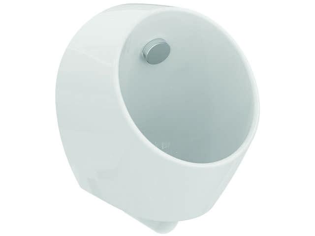 IS Urinal Sphero Mini Wasserlos 300x300x370mm Weiß