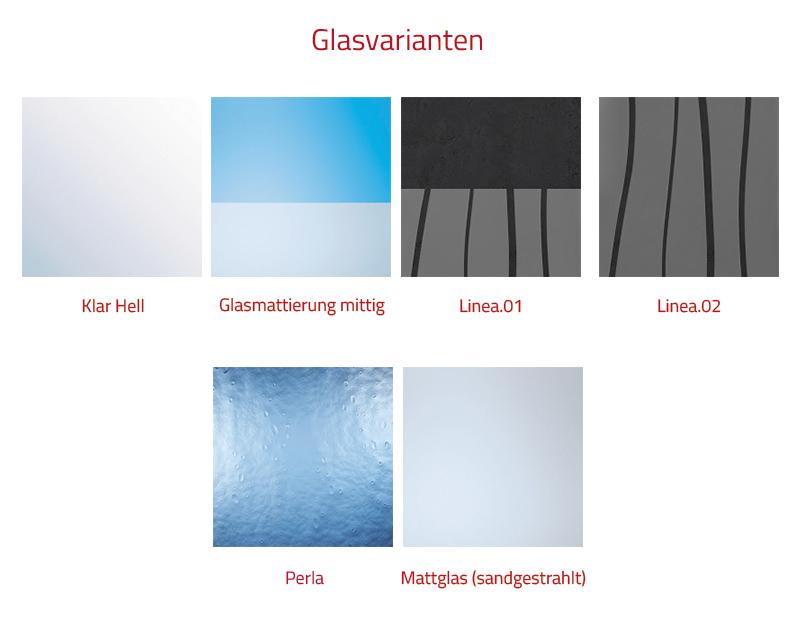HSK Favorit Schiebetür Runddusche mit gebogenen Scheiben - 80x80 Chromoptik Bodeneben Linea.01 ohne Beschichtung exkl. Aufmaßservice