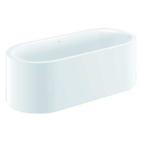 GROHE Badewanne Essence 39728 freisteh. AntiSlip mit Überlauf alpinweiß