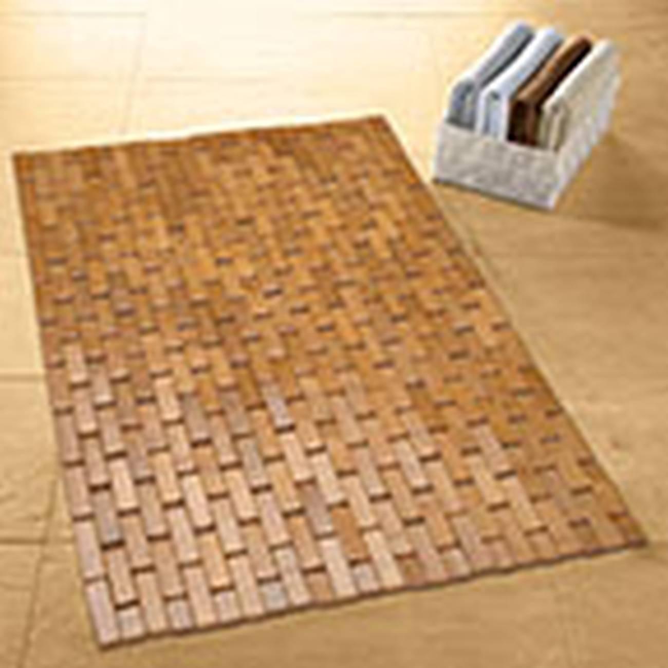 Holzmatte Palito Bambus Natur 50x 70 cm
