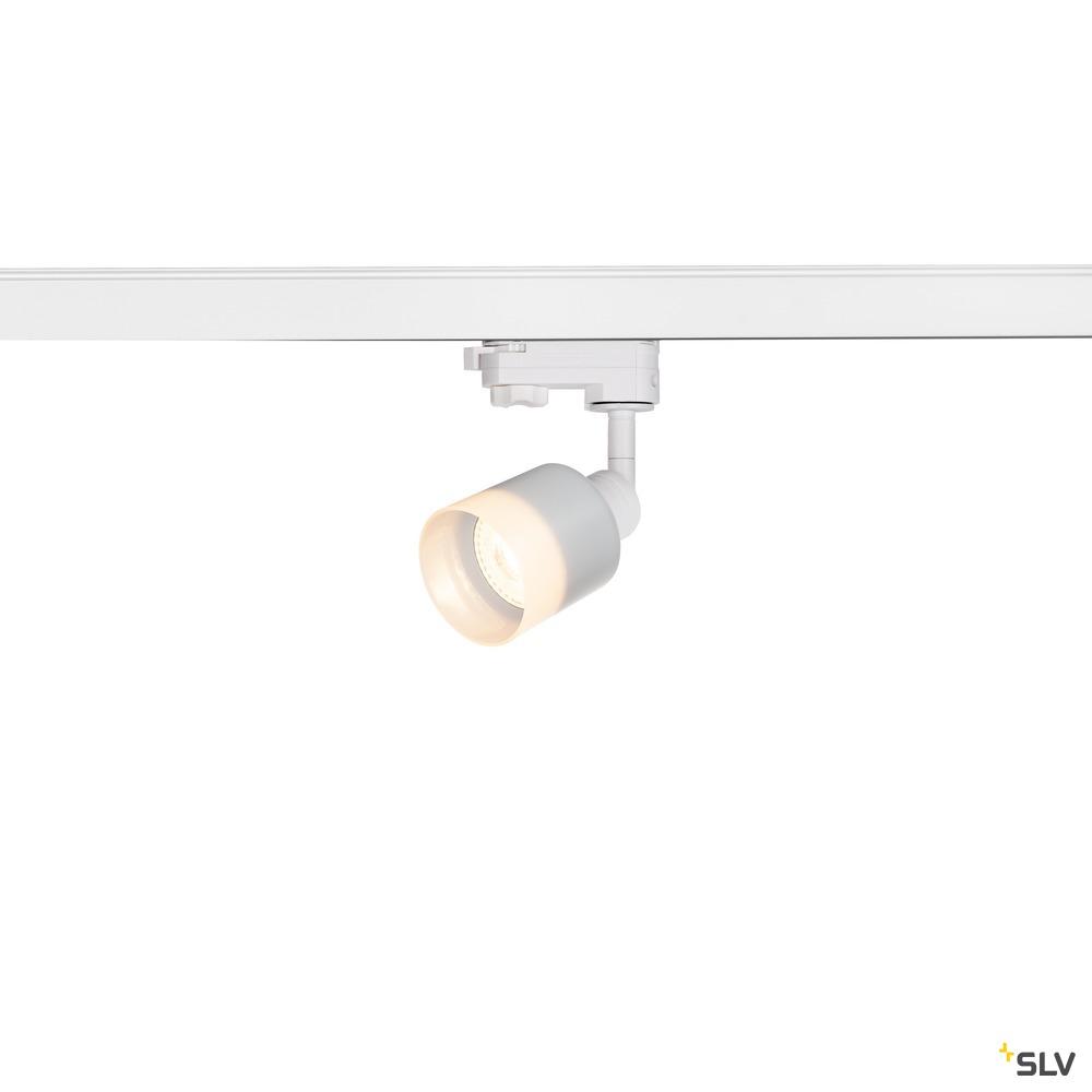 PURI TRACK  QPAR51 Glas, weiß 50W, inkl. 3P.-Adapter