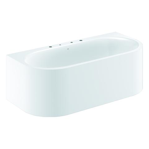 GROHE Vorwand-Badewanne Essence 39650 EasyClean für Wannenkombin. alpinweiß