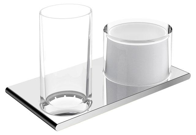 KE Doppelhalter Edition 400 11553, Glas/