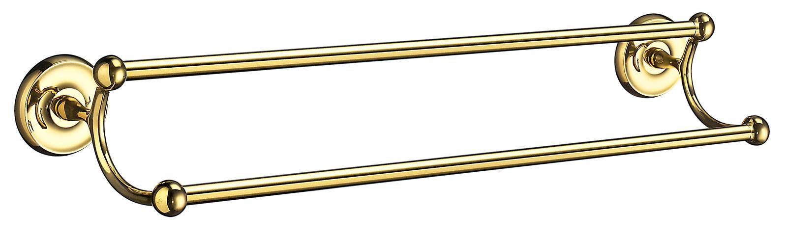 SMEDBO VILLA Doppelte Handtuchstange, L 635 mm Messing poliert