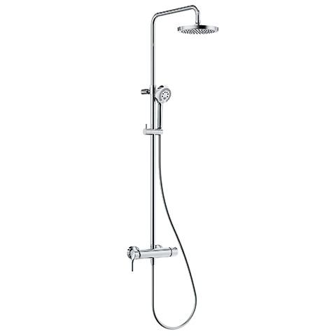 KLUDI LOGO Einhebelmischer Dual Shower System chrom