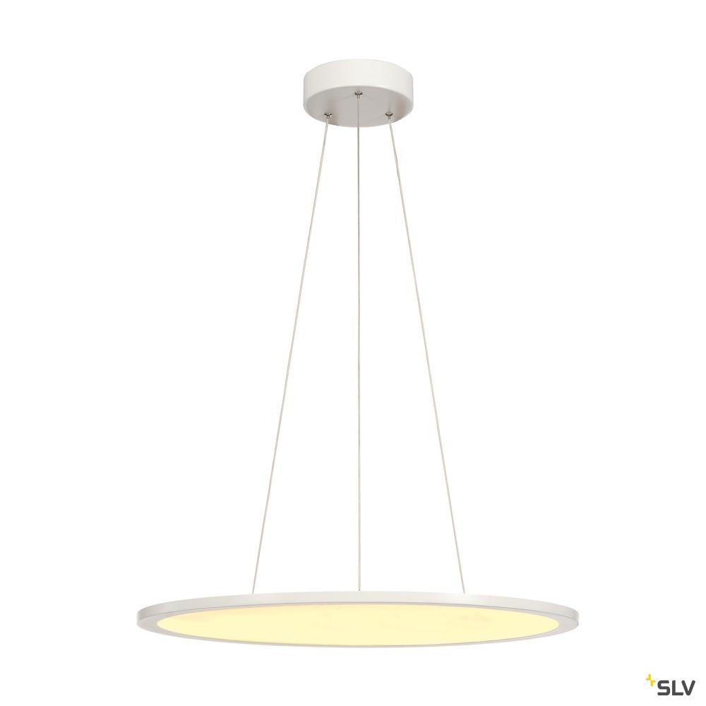 LED PANEL, Pendelleuchte, 2700K, rund, weiß, dimmbar 1-10V, 40W