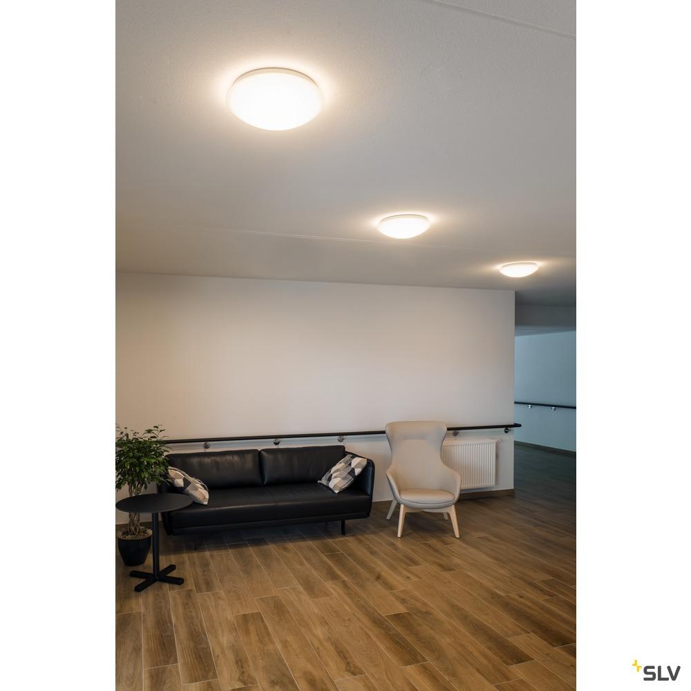 LIPSY 50 Dome, LED Outdoor Wand- und Deckenaufbauleuchte, weiß, IP44, 3000/4000K