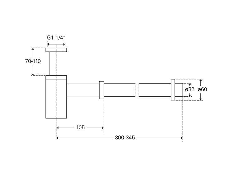 Treos Design Siphon