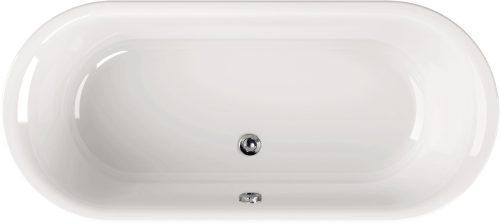"""Shape Clear"" Badewanne Oval Basic 1800 x 800 x 400 mm"