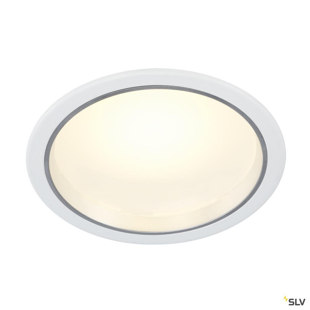 DOWNLIGHT 23, Einbauleuchte, LED, 3000K, rund, weiß, ohne Treiber, 33W